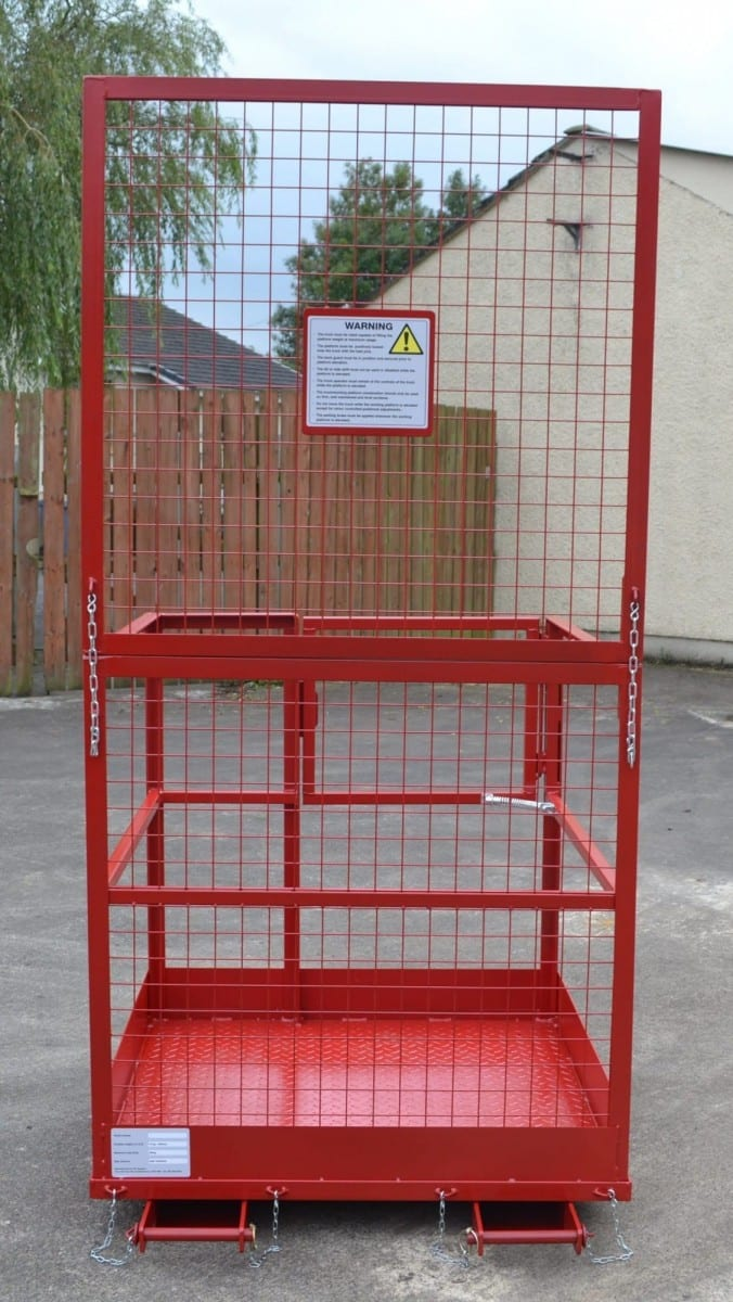 Safety cage red back
