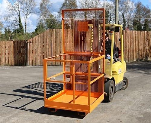 forklift safe cage