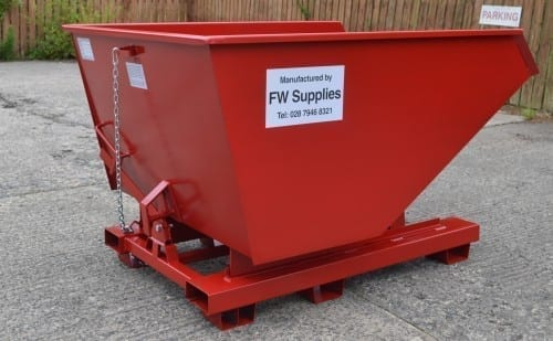 FW Supplies Tipping Skip 1400l